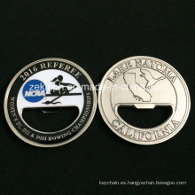 Custom Double Sides Metal Challenge Coin with Bottle Opener Function