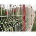 Grüner Plastiküberzogene Sicherheit geschweißte Maschendraht-Zaun-Platte