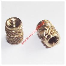 Proveedor de latón proveedor Hot Melt Nut Manufacturer para teléfono