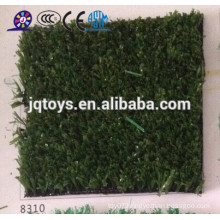 China hot sell outdoor playground equipment plastic green grass mat