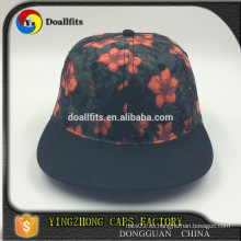 Diseñe su propio sombrero del Snapback / el casquillo barato al por mayor del snapback / el snapback promocional del patter de la impresión
