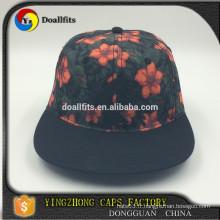 Concevez votre propre chapeau Snapback / Vente en gros Capuchon snapback bon marché / Snapback promotionnel