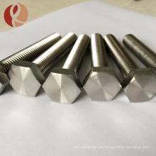 Cierres métricos precio competitivo clavo de titanio, tornillos métricos