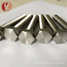 OEM high quality different size of titanium fastener