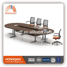 (MFC) HT-25-43 mesa de conferência moderna moldura de aço inoxidável para mesas de conferência de 4.3M for sale
