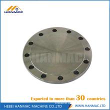 Aluminio 1060 JIS RF brida ciega montaje