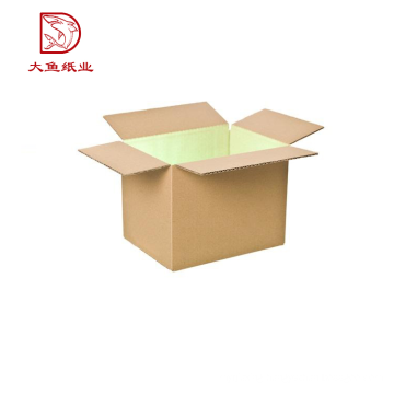 Hot sale corrugated rectangle brown packing box for auto parts