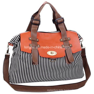 New Arrival Fashion Canvas Ladies Satchel (ZXS0006)