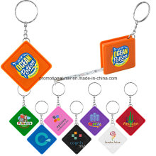 Promotional Plastic Keychain with Ruler Function