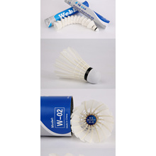 shuttlecock badminton,high quality feather badminton