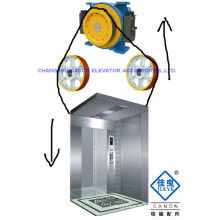 PM Gearless Elevator Traction MOTOR