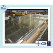 Placa de pared de cortina de aluminio