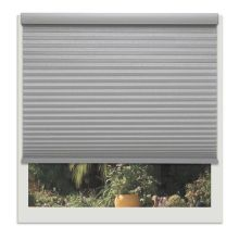 Gray Cordless cellular blinds