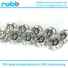 aluminum alloy stair climbing robot 10 inch wheel hub CNC machining suppliers