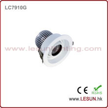 Vente chaude Mini 10W COB LED Downlight LC7910g