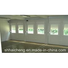 Oficina combinada construida de la casa del envase de Prefab (shs-fp-office064)