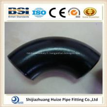 raccords de tuyaux / coudes en acier au carbone