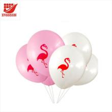Logotipo impresso barato não balões de látex