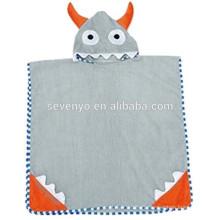 Garçons ou filles à capuchon serviette de bain 100% coton utiliser pour bain, bande dessinée à capuchon serviette de bain en coton Terry Toddler Kid animaux peignoir