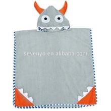 Мальчиков или девочек с капюшоном полотенце 100% хлопок использовать для ванн, мультфильм с капюшоном полотенце ванны Терри хлопка малыш ребенок животных халат