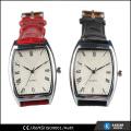 Relojes cuadrados señoras reloj de moda reloj de cuero