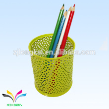 New style colorful green round nice fountain car single pen holder