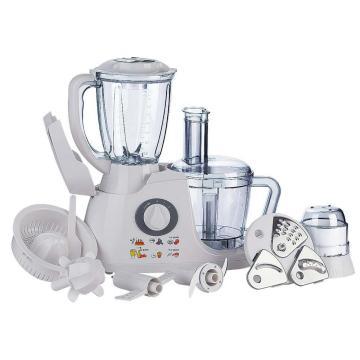 Procesador de preparación de alimentos de tazón de plástico multifuncional