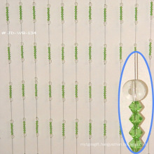 Green Crystal Round Bead Curtain as Gifts