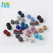 Atacado AAA Cristal Rhinestone Disco Pave Clay Ball Beads