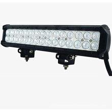 22.5 polegada 126 W Slim linha de trabalho barra de luz para Offroad e caminhão dupla linha barra de luz de trabalho para o Veículo DC 9-32 V