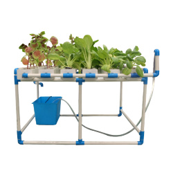 square PVC  nft  hydroponic system