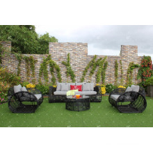 Eagle Collection - Modern PVC Rattan Wicker Sofa Set for Outdoor or Living Room Furniture