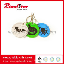 Colorful reflective pvc key chain for Promotion gift key chain