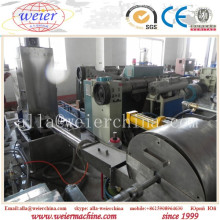 200-500 Kg Plastic PP PE Pet Water Ring Pelletizer Granulating Machine