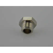 Air-Fluid Hexagonal Plug - Brass Fittings - BSPT Male Thread