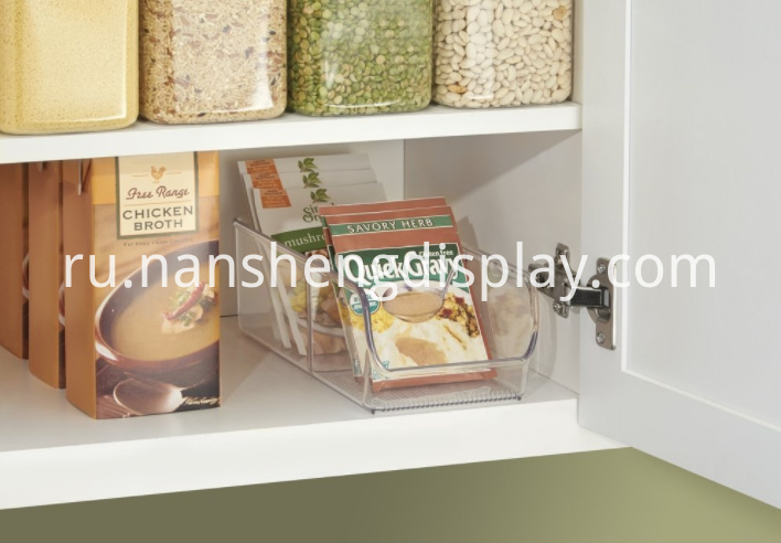 Organizer Bin for Kitchen Pantry