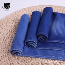 Tissu de coton de couleur teint en spandex de polyester pour chemises