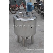 Réservoir de mélange de chauffage électrique avec agitateur à entrée supérieure