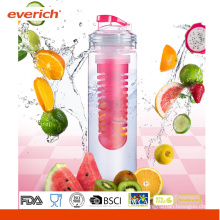2015 New Design Tritan Fruit Infuser Water Bottle With A Big Infuser