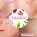 Deep Pore Cleansing Healing & Hydrating Exfoliating Strawberry Facial Clay Mask