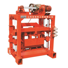 QTJ4-40 hollo block making machine/hongfa simple concrete block forming machine