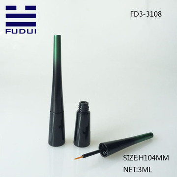 Black Gradient Color Customize Empty Eyeliner Bottle