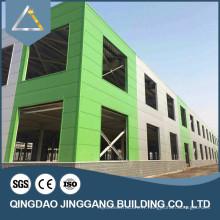 Matériau d'entrepôt préfabriqué en acier à faible coût