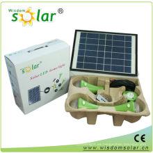 Smart CE mini luz casera solar con 3 LED bombilla light(JR-SL988A)