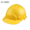 CE industrial safety hard hat helmet with vents