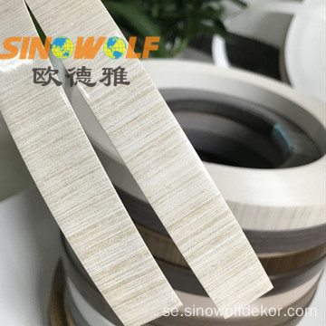 PVC Edge Banding Woodgrain High Gloss Surface