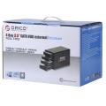 ORICO 3549SUSJ3 4 baías 3.5 HDD invólucro HDD à prova de choque USB3.0 & e-SATA interface dupla
