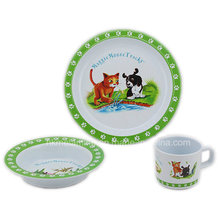 Kinder Melamin Geschirr Set (TZ2864)