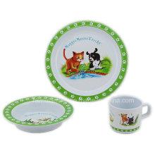 Ensemble de vaisselle pour enfants Melamine (TZ2864)