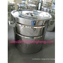 Stainless Steel Mirror Polish Drum Set